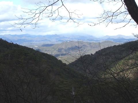 北摂方面の景色